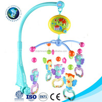 Mobile For Baby Safety Plastic Baby Hanging Toys Cheap Musical Electric Educational Rattle Toy