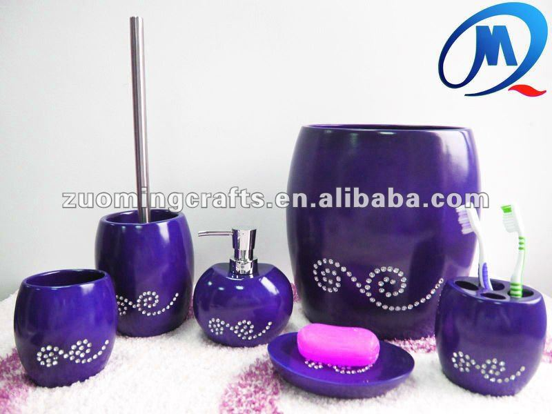 purple bathroom sets – laptoptablets