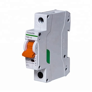 Industrial 3 Pole 250v MCCB Oil Circuit Breaker