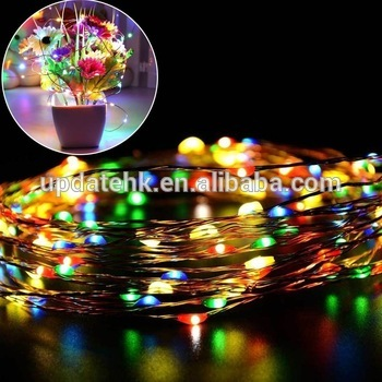 solar powered string light 100 leds copper wire lighting for christmas home yard buy led copper string lightssolar powered string lightscopper wire