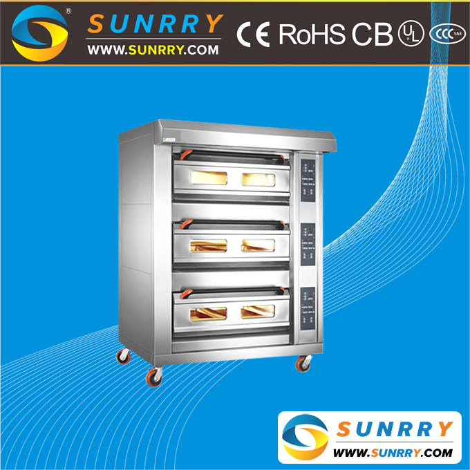 Hot selling electric cake and bread baking deck oven for sale