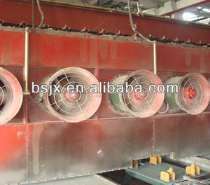 Clay brick making machine production line / soil brick tunnel kiln / clay brick firing system