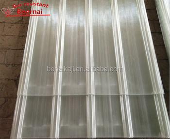 Fibra de vidrio transl cido l minas para techos grp transparente claraboya hojas para techos de - Vidrio plastico transparente precio ...