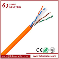 100 ohm 23AWG 4 Pairs Cat6 UTP Network Cable