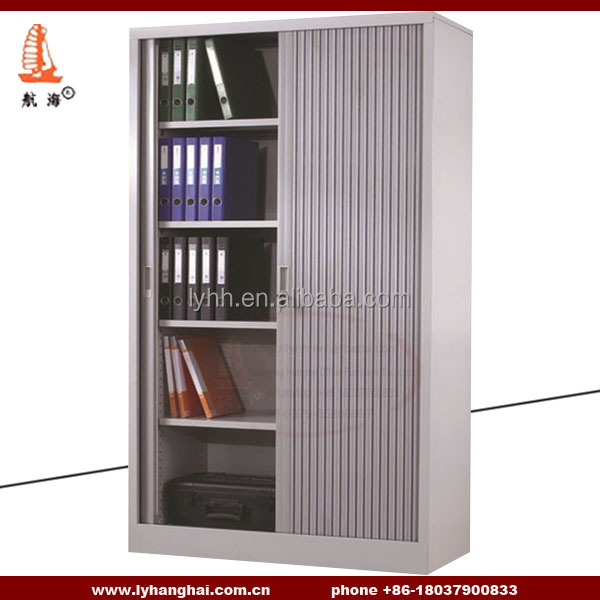 Office Furniture Steel Roller Shutter Door Cabinets Metal Tambour