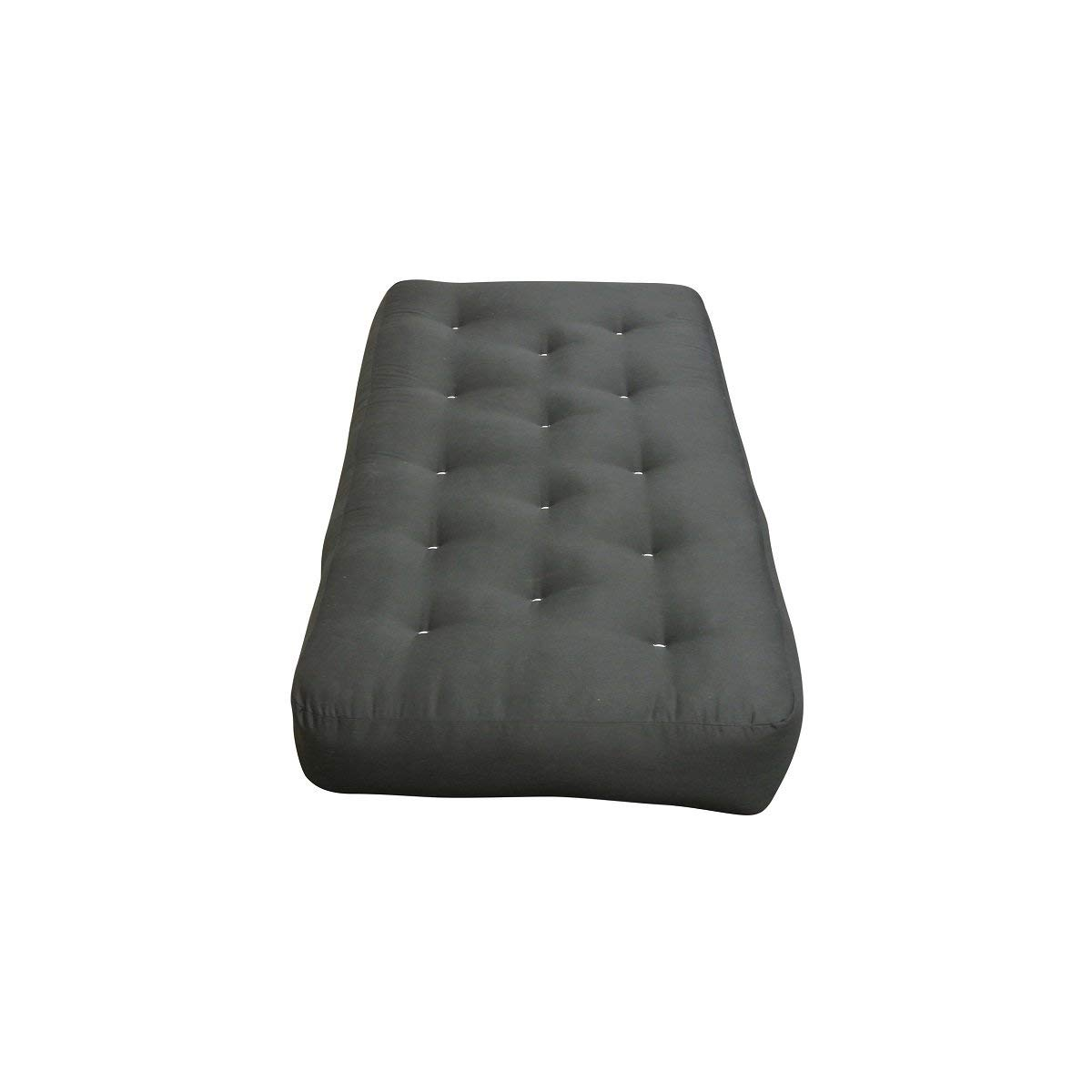 Get Quotations Myeasyping 10 Double Foam Cotton Chair Black Duct Futon Mattress Bed Sofa Suede And