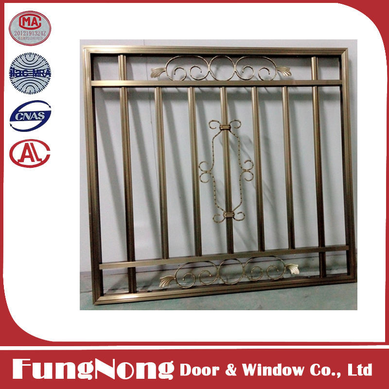 Decorative security simple iron window grills buy simple iron window grills product on - Decorative window grills ...