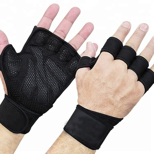Custom Half finger Gym fitness Weight Lifting Gloves
