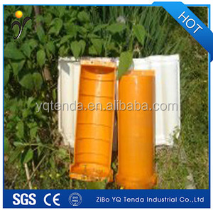 Unbreakable precast concrete roof tile plastic moulds for making roof tiles