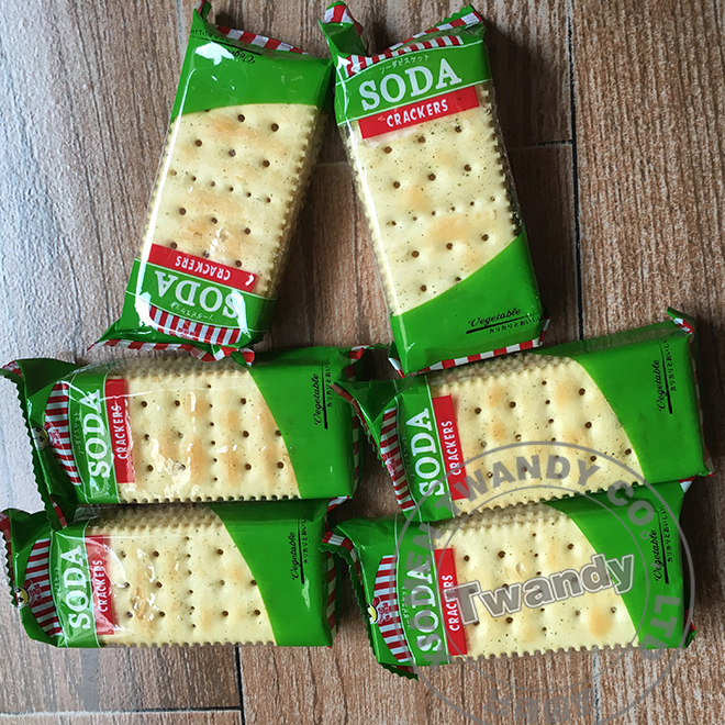 Milk soda cracker for africa