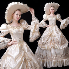 Ecoparty 18th Siècle Robe Rococo Baroque <span class=keywords><strong>Mascarade</strong></span> costume Historique Victorienne Crinoline Boule et la Robe <span class=keywords><strong>De</strong></span> Mariée