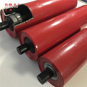 108MM Belt conveyor buffer steel tube 10mm impact roller ilder