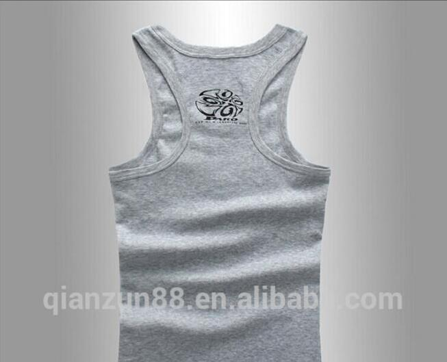 2018 new custom one size fit all tank top men printing logo