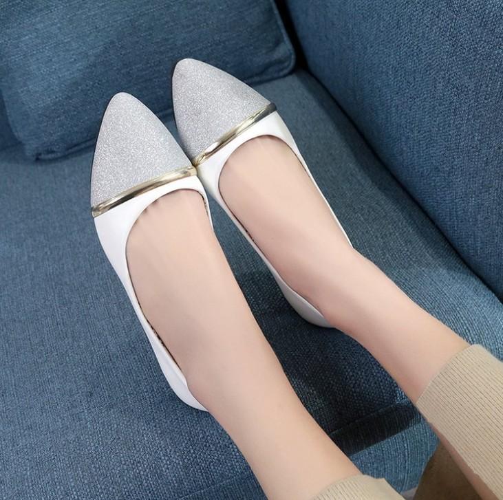 d1c3bd0fc850 Zm40738c 2018 лето женские туфли расслабляющий плоской подошве Корейская  женская обувь ...