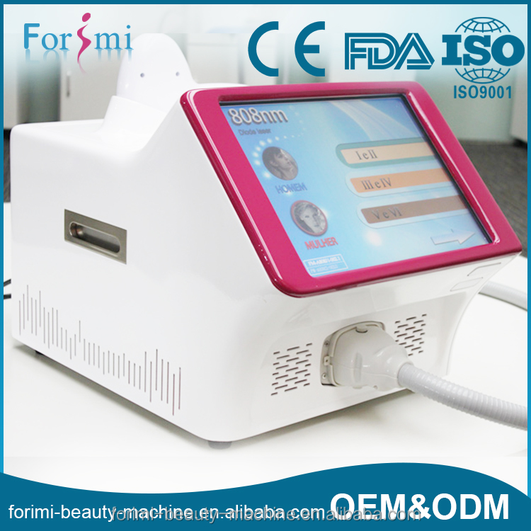 2016 newest high quality laser diodo 810nm portatil for hair removal