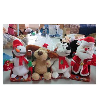 Custom Stuffed Dancing Animal Soft Plush Talking Toys Buy Stuffed