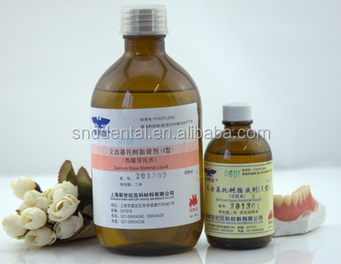 Heat Curing Liquid Denture Base Materials Type I