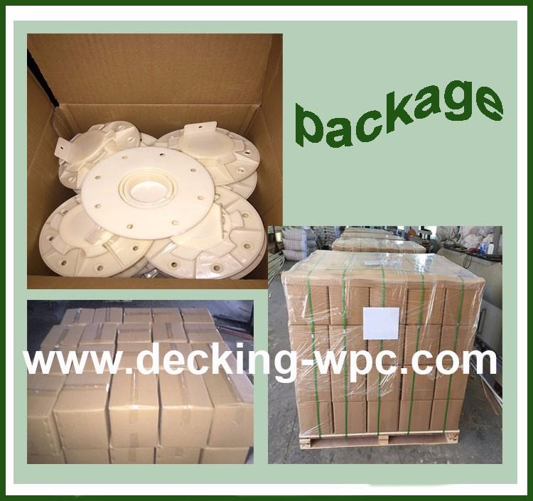 دعم نظام ل الخشب البلاستيك المركب التزيين