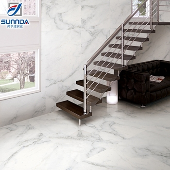 Nice Designs Marble Patterns Polished Ceramic Floor Tilecalacatta