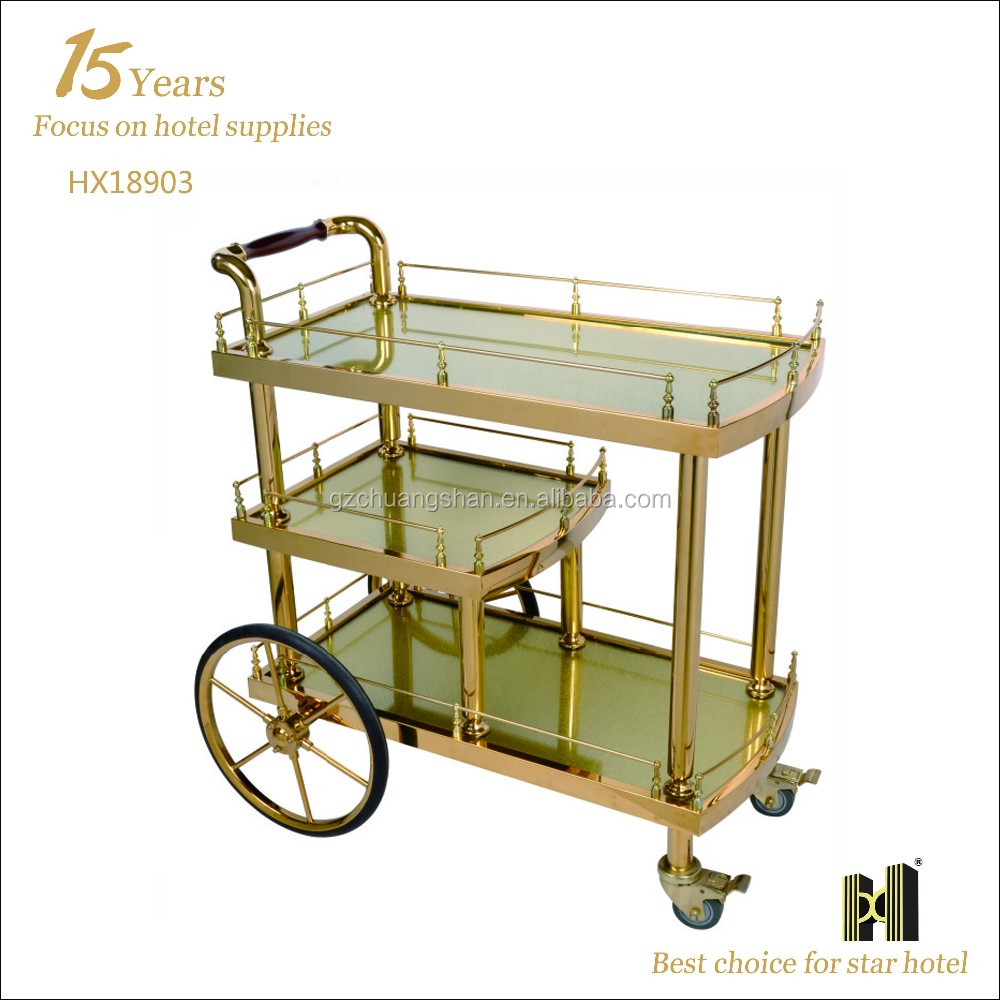 Hotel Dining Food Serving Trolley