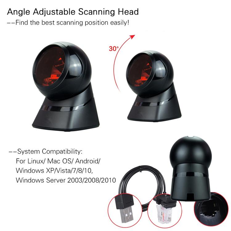 하니웰 MK7120 데스크탑 바코드 스캐너 슈퍼마켓 탁상용 바코드 스캐너