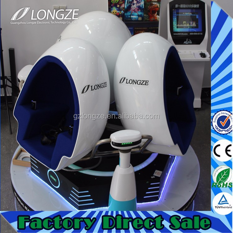 Most popular google and fair new game business 9d virtual reality egg machine