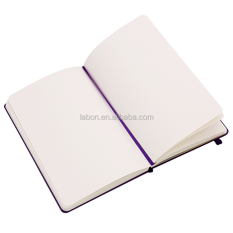 Custom Sheets Waterproof A5 PU Leather Cover Brand Name Notebook