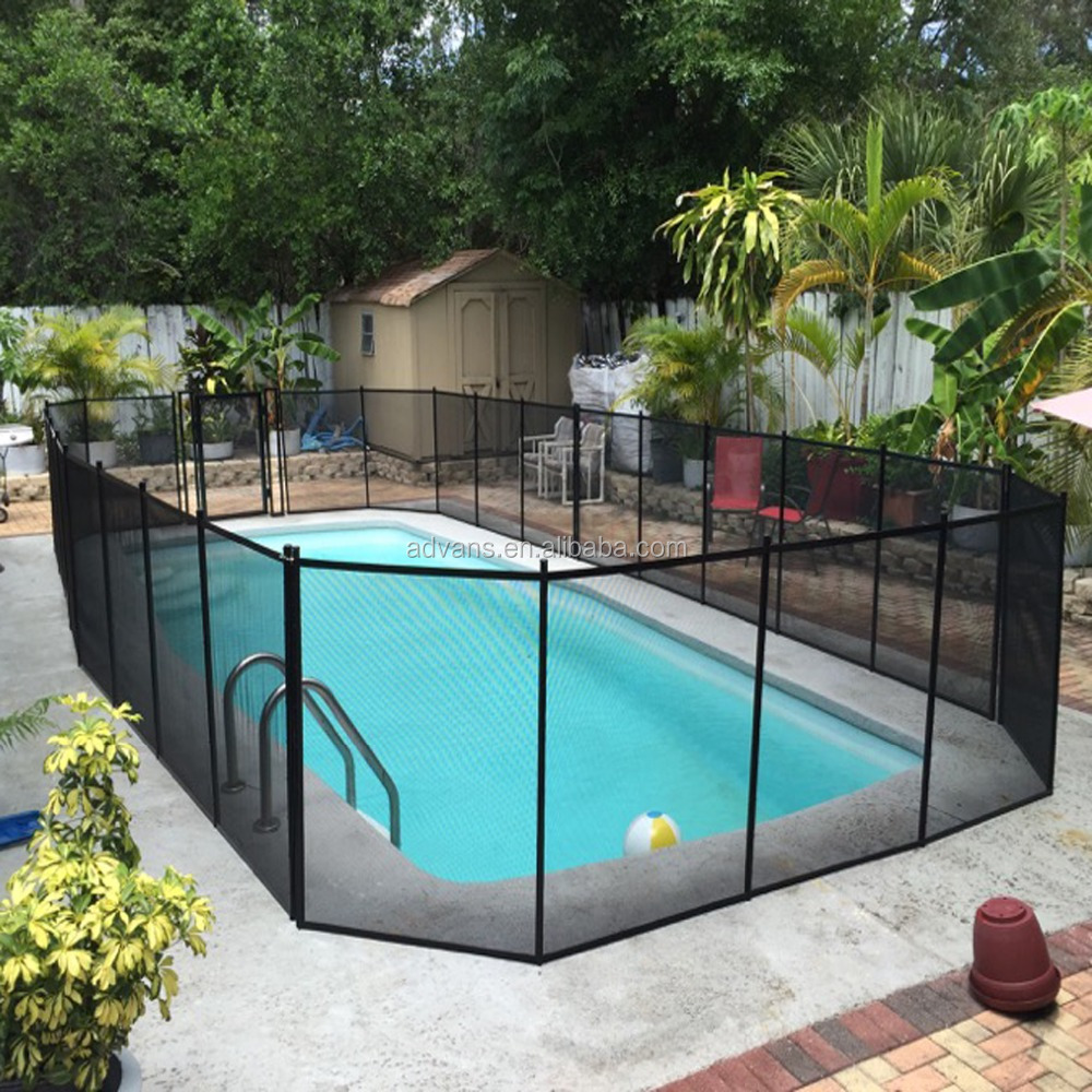 Cheap Invisible Temporary Vinyl Fence Children\'s Barrier Safety Swimming  Pool Fence - Buy Temporary Swimming Pool Fence,Cheap Vinyl Pool ...