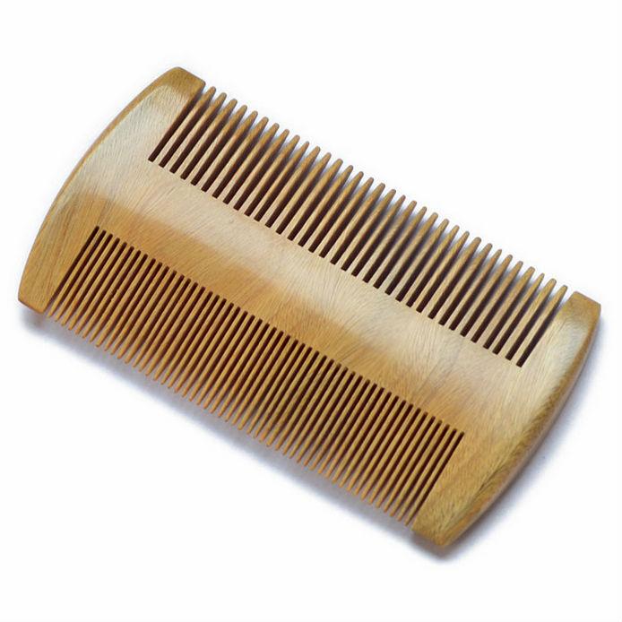 Marvelous Green Sandalwood No Static Handmade Comb Comb For Facial Hair Short Hairstyles For Black Women Fulllsitofus