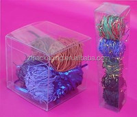clear plastic cube gift boxes
