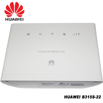 Original Unlock Huawei B315 B315s-607 150mbps 4g Lte Wireless Router  Support Vpn And Voice Call - Buy 4g Lte Wireless Router,150mbps 4g Lte  Wireless