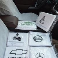 Full Set Print logo Non Woven Fabric Car Seat Cover