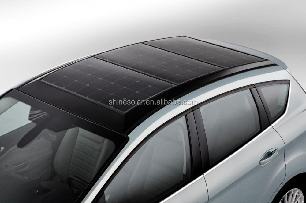 12v Flexible Solar Panel For Car Boat Semi Flexible Module