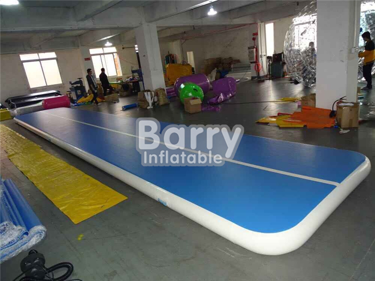 Guangzhou barry factory inflatable air track for gymnastics