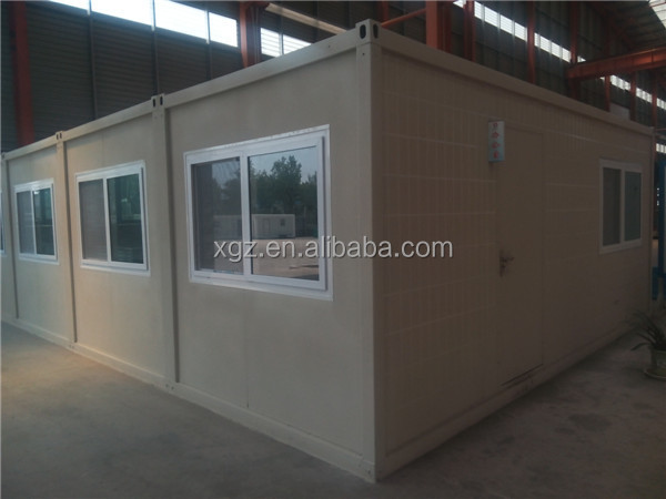 prefabricated home modern container house for 40 ft shipping container shelter