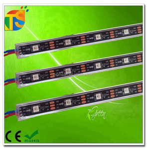 WS2812 60led 5050 rgb digital waterproof led rigid bar ip65