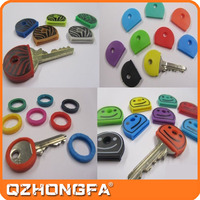 Wholesale rubber silicone key cover/soft rubber key cap