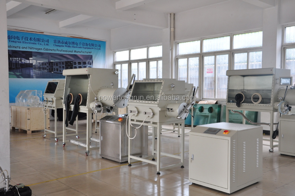 Organic Photovoltaic Glove Box / Vacuum glovebox / cheaper than mbraun glove box with import technology and spare parts