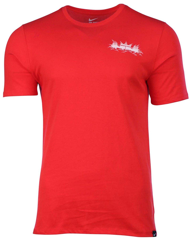 save off c7487 c33fb Get Quotations · Nike Men s Dri-Fit LeBron Chalk Witness Basketball T-Shirt