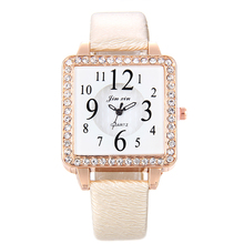 5143 Factory Price Rectangle Dial Big Small Number Ladies Watches Women Dress Quartz Wristwatch latest watches design for ladies