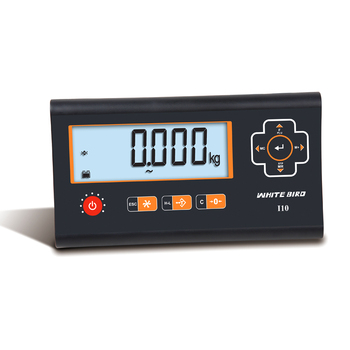 Large LCD display 6 digits plastic strong Indicator for platform scale and truck scale plastic indicator