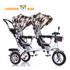 Easy rider children metal frame tricycle / 360 degree seat kids tricycle children age 1-6 years / double tricycles for children