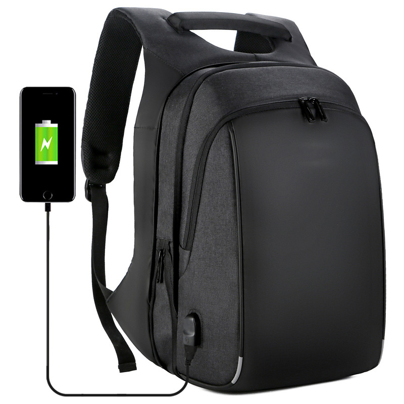 15.6 inch Laptop Multi-functional Zipper Extensible Match Luggage Business Student Travel Waterproof Antitheft Backpack