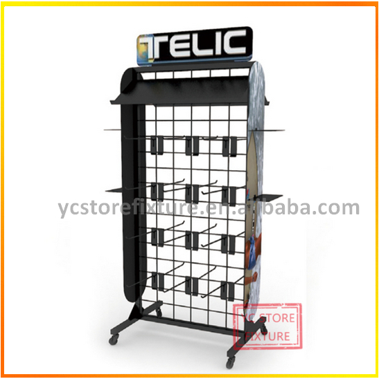 Top Sale Demountable Double-sides Slipper Display Racks Stand