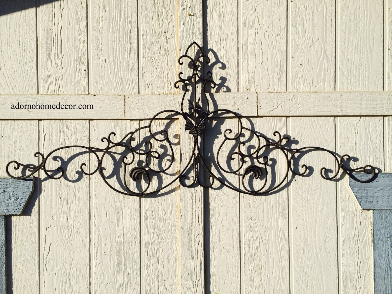 Get Quotations Large Tuscan Wrought Iron Metal Wall Decor