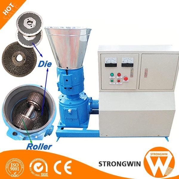Super Quality Floating Fish Feed Pellet Machine Small Wood Pellet ...