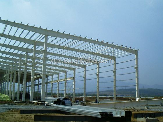 Quality colourful eco-friendly structure steel for steel structure warehouse/Workshop Building