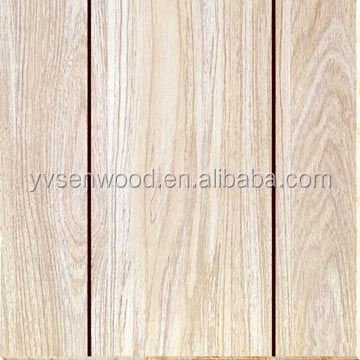 paper overlaid grooved plywood/polyster paper overlay grooved plywood
