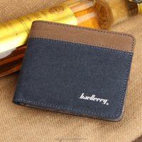 new style mens canvas wallets