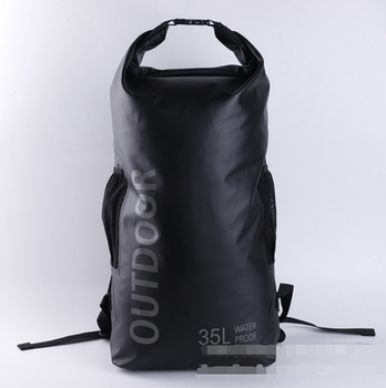 2019 New Products Custom Logo PVC Waterproof Dry Backpack Outdoor